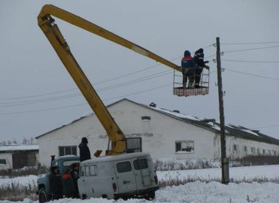 Неполадки на электролинии привели к перебоям с водой в д.Полянское