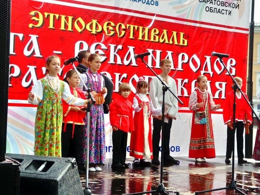 Татищевский район на областном этнофестивале!