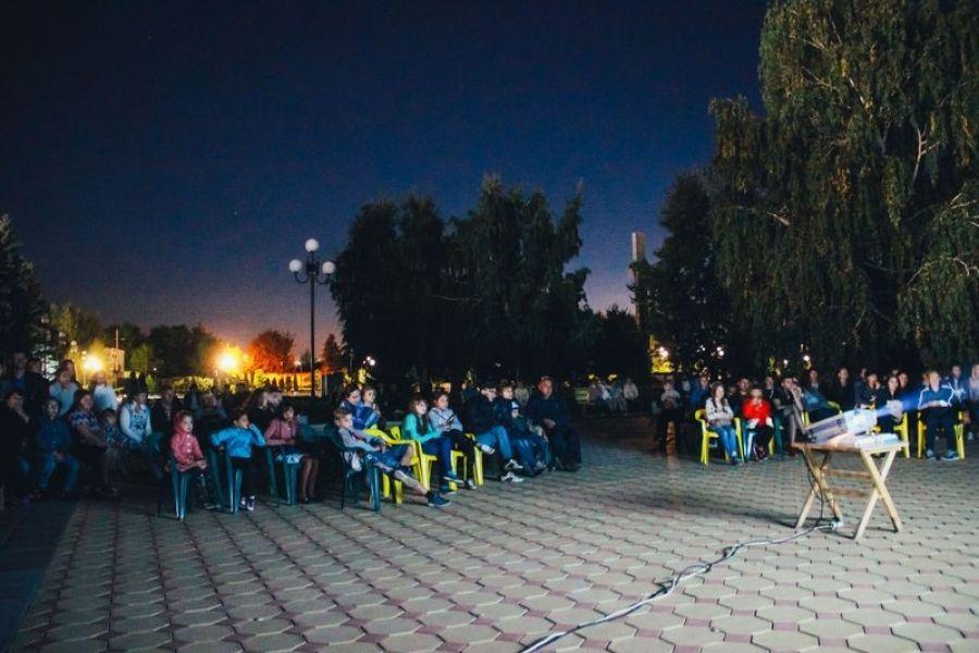 Дебютная «Ночь кино» в р.п. Татищево!