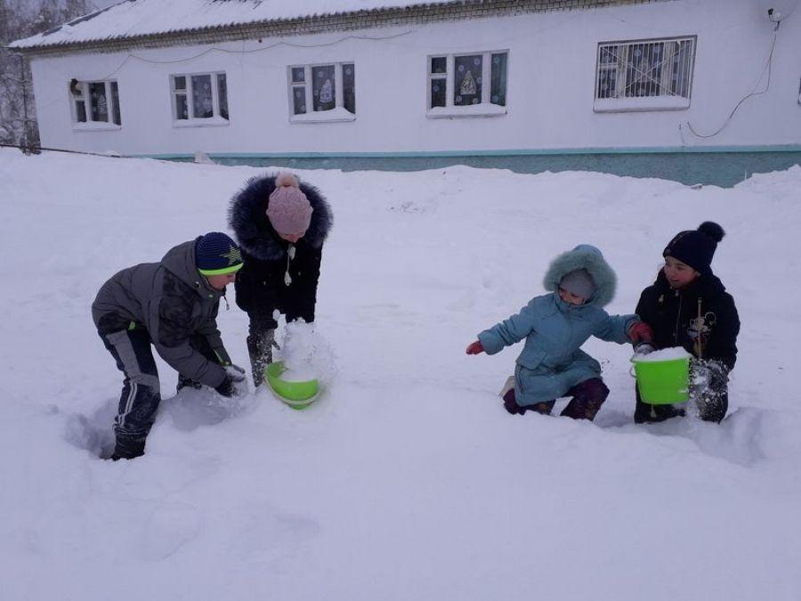 Веселый «Снежный ком»