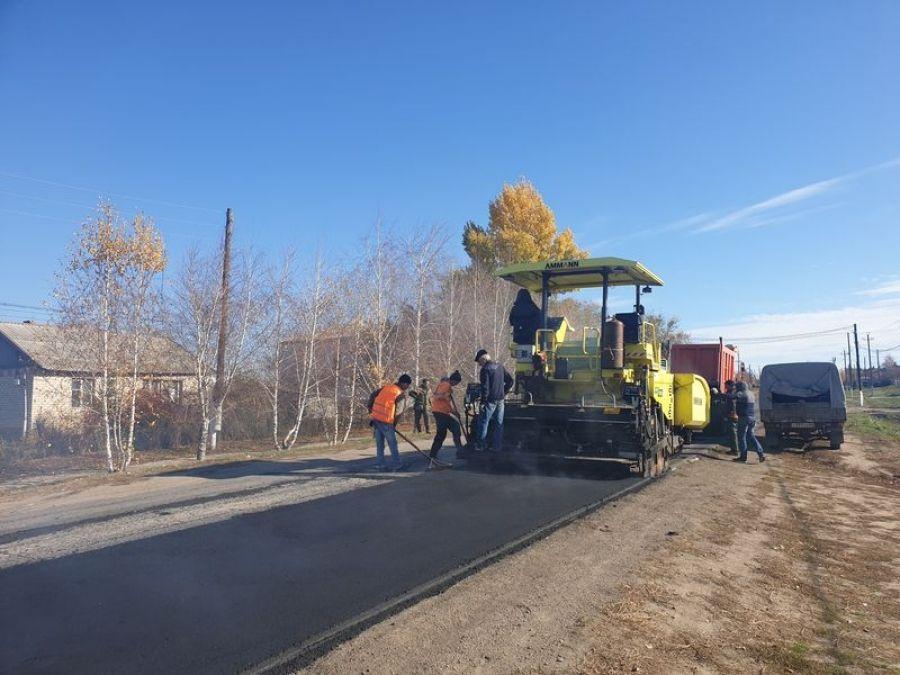 Ремонт региональных дорог в Татищевском районе