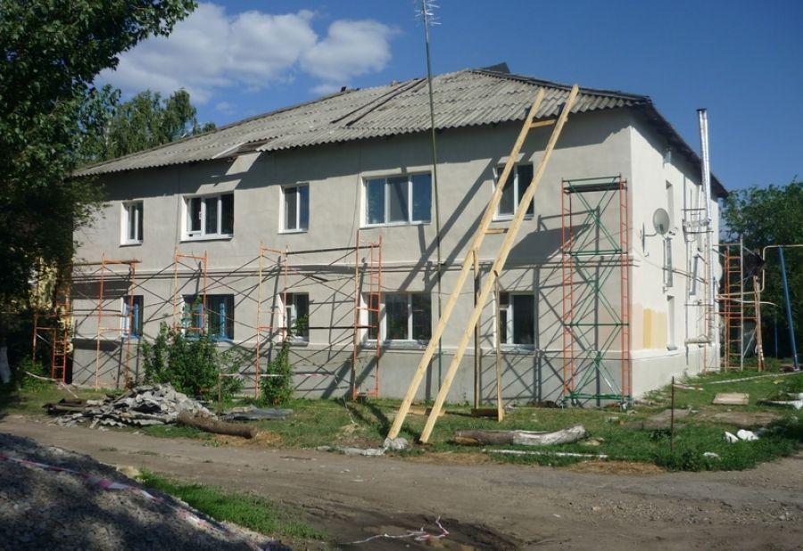 Капитальный ремонт многоквартирных домов в р.п.Татищево