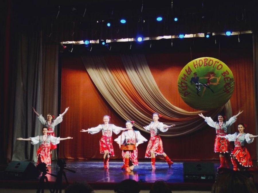 Финальный этап областного фестиваля «Ритмы нового века»