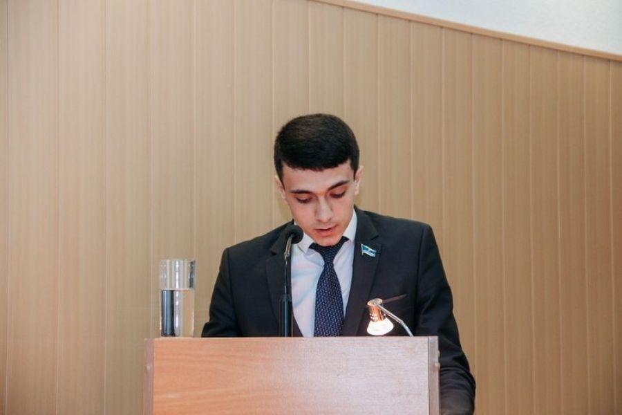 Доклад исполняющего обязанности заместителя главы администрации Татищевского муниципального района Е.А.Киселева на собрании актива