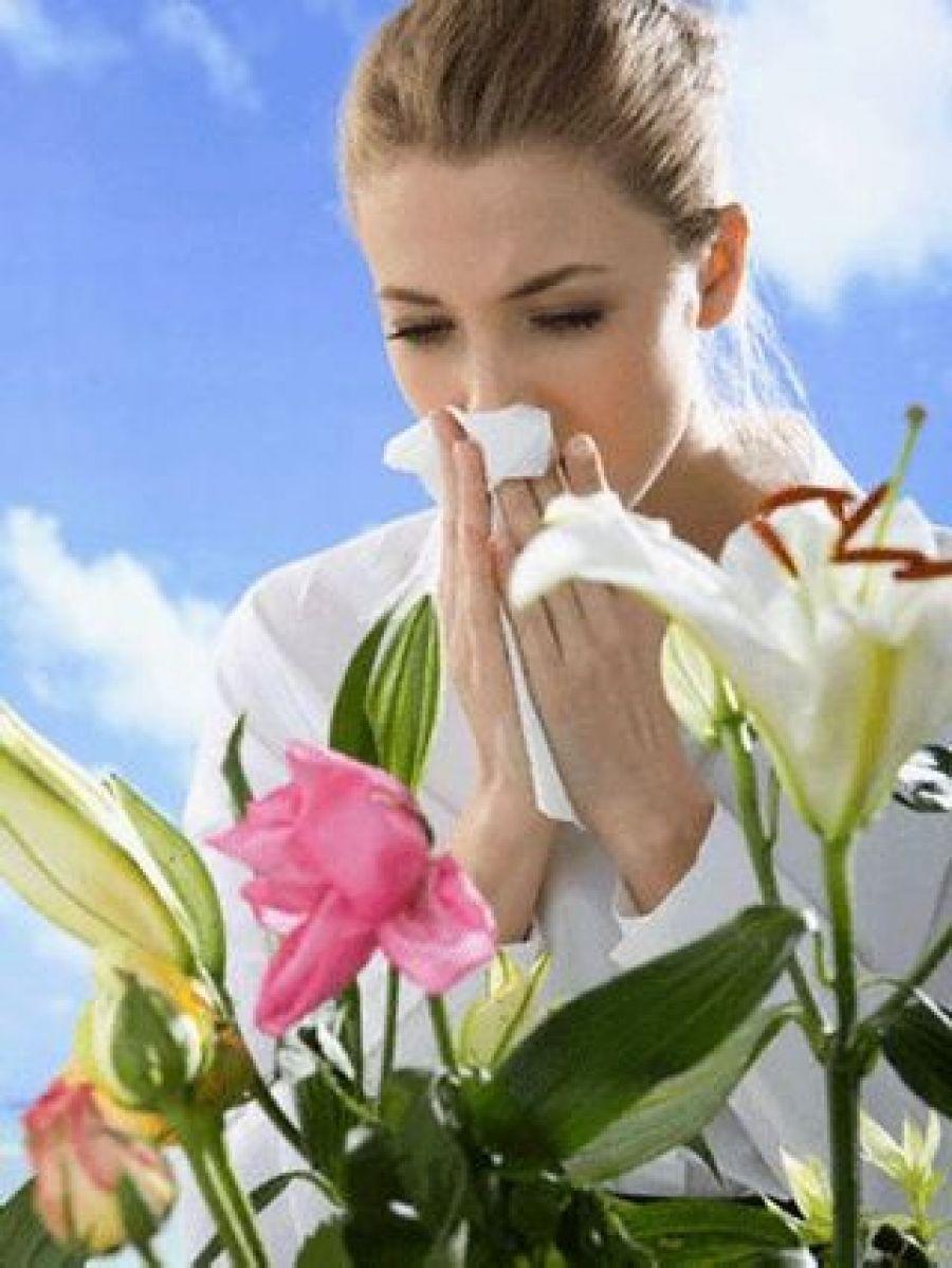 Лето, цветы, аллергия