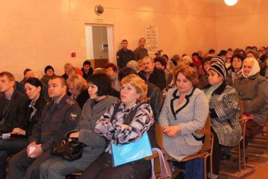 Состоялось собрание актива в Сторожевском муниципальном образовании