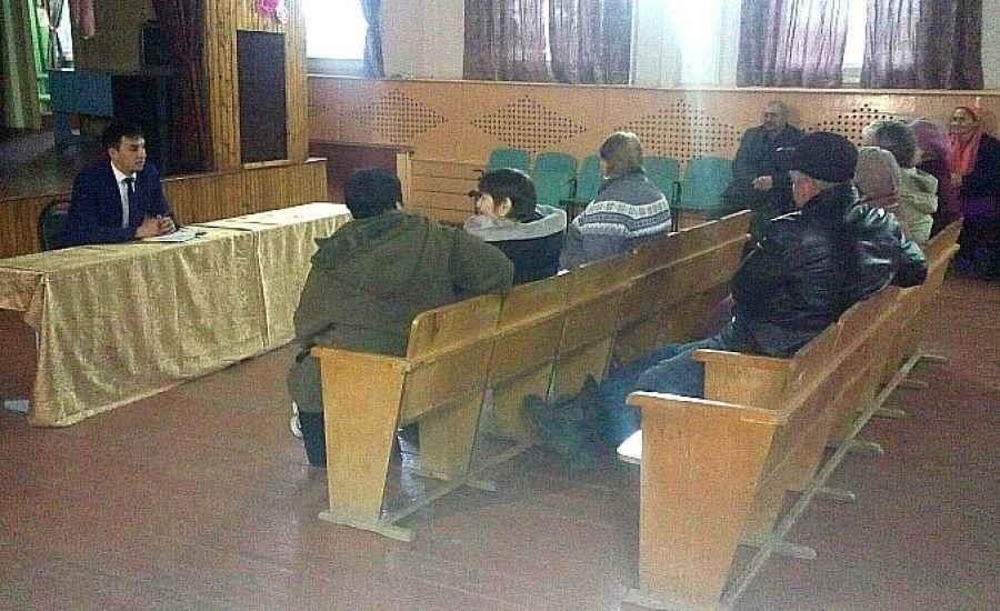 Встреча с жителями села Нееловка