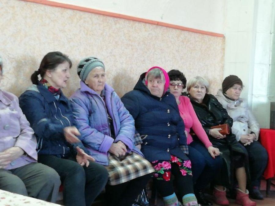 Встреча с населением п. Тимирязевский