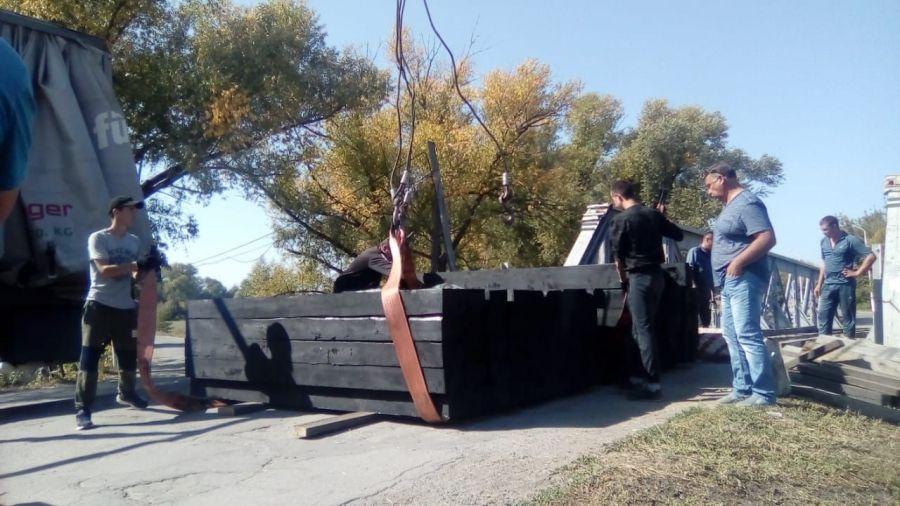 Ремонт автомобильного моста по ул. Красноармейская