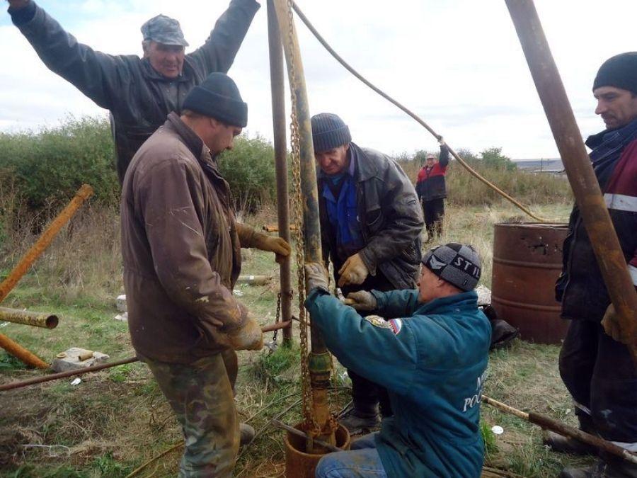 Водоснабжение в селе Карамышка