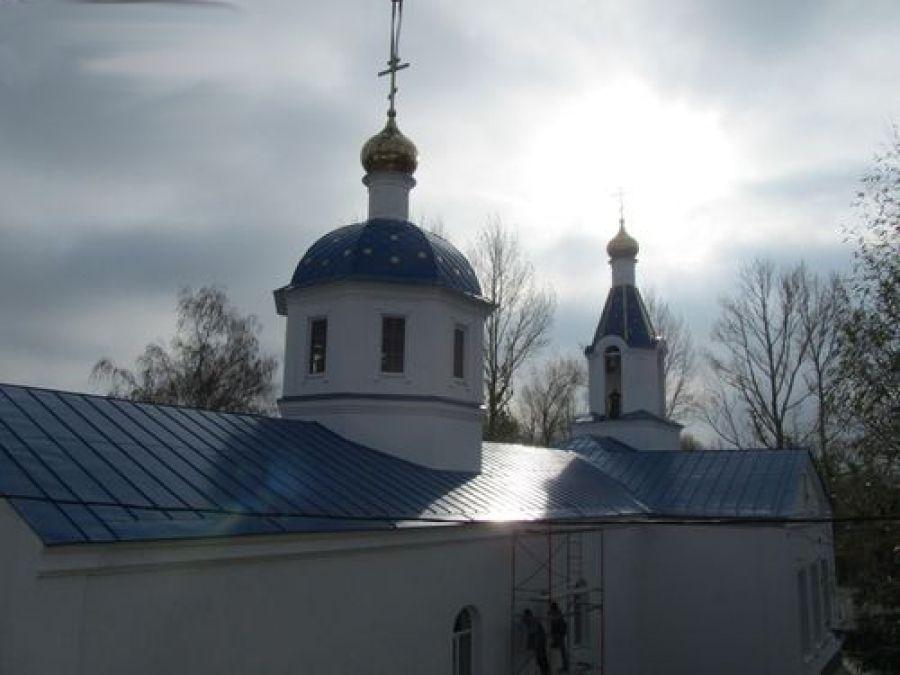 Реконструкция храма в честь Казанской иконы Божией Матери