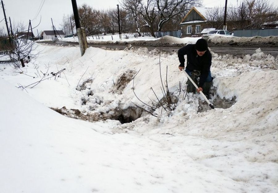 Подготовка к весеннему паводку в Идолгском МО