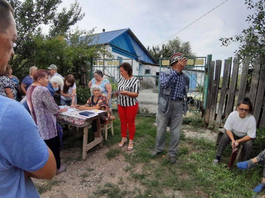 Собрание жителей д.Шевыревка