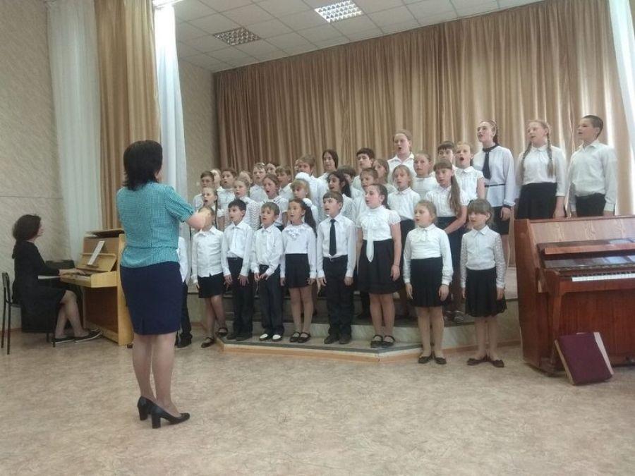 Отчётный концерт филиала Детской школы искусств в с. Вязовка