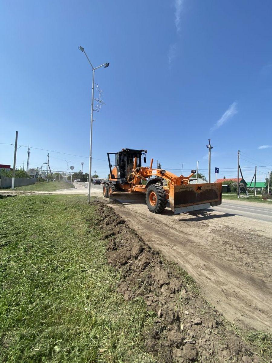 Содержание автомобильных дорог в р.п. Татищево