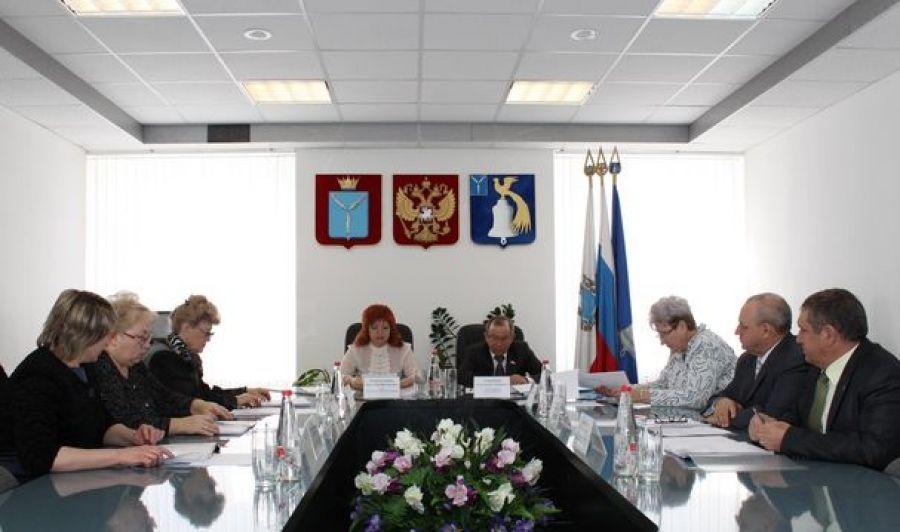 В Татищевском районе состоялся конкурс на замещение должности главы администрации района