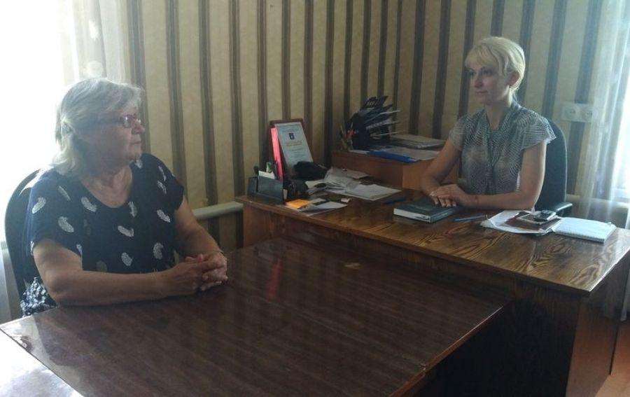 В Садовском МО нотариус провёл прием граждан