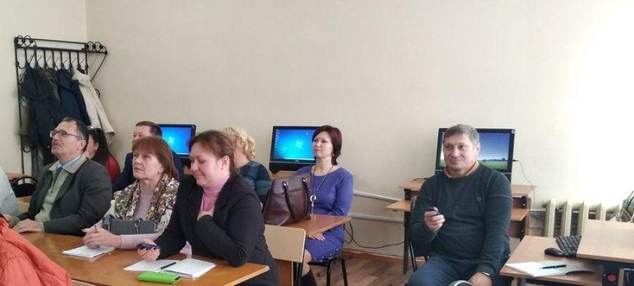 Заседание районного методического объединения учителей физики