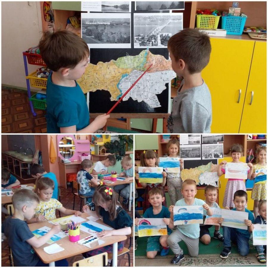 Матушка – река Волга