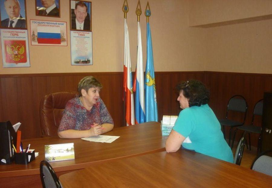 Прием граждан в Сторожевском МО