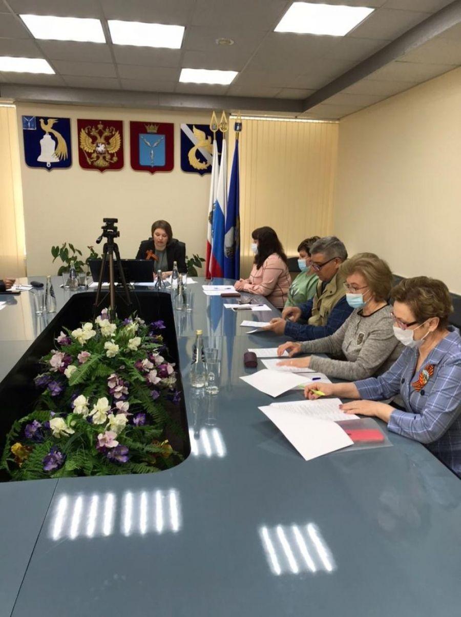 Заседание территориальной избирательной комиссии Татищевского муниципального района