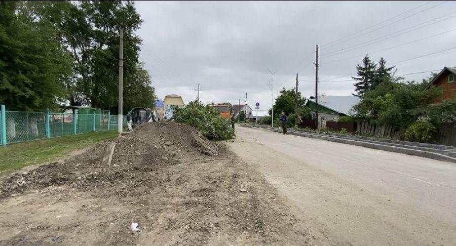 На ул.Кирова начался ремонт дороги