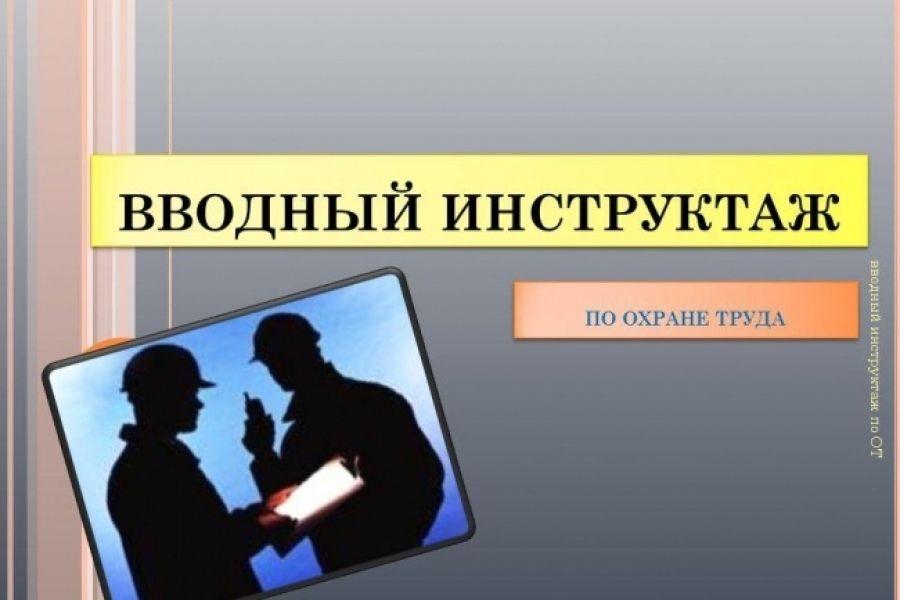 Как организовать вводный инструктаж по охране труда