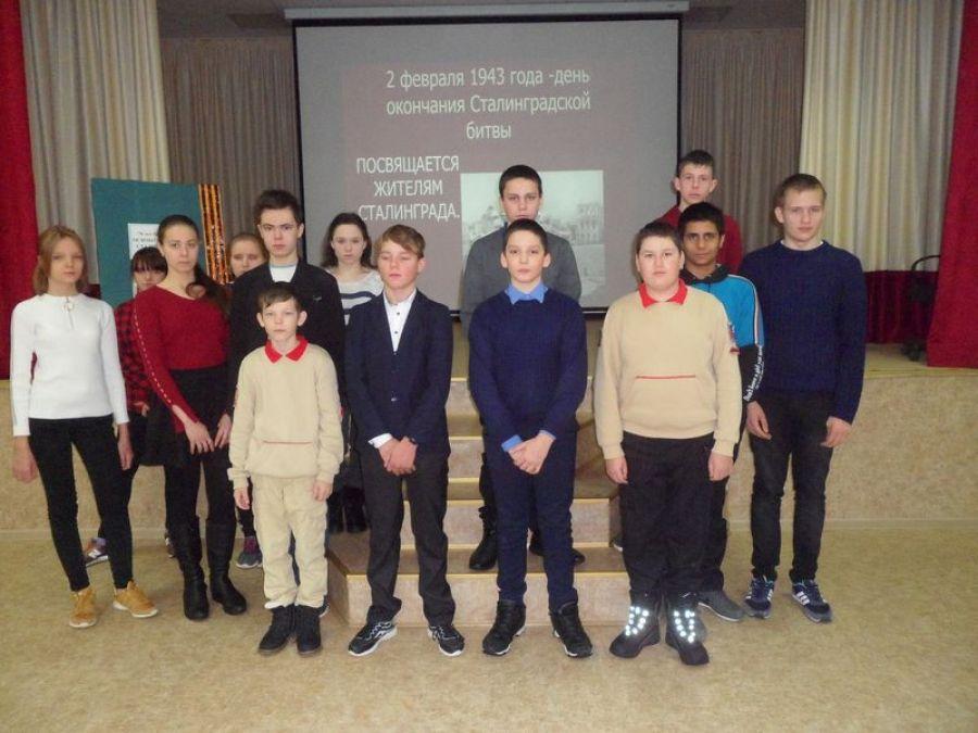 Посвящается жителям Сталинграда