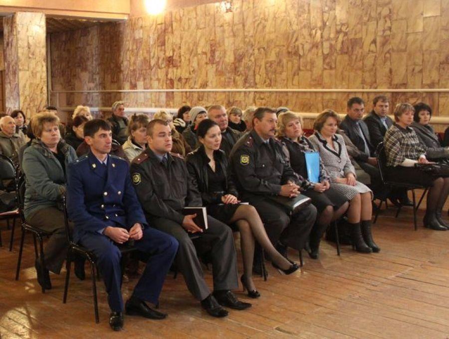 Состоялось собрание актива в Идолгском муниципальном образовании