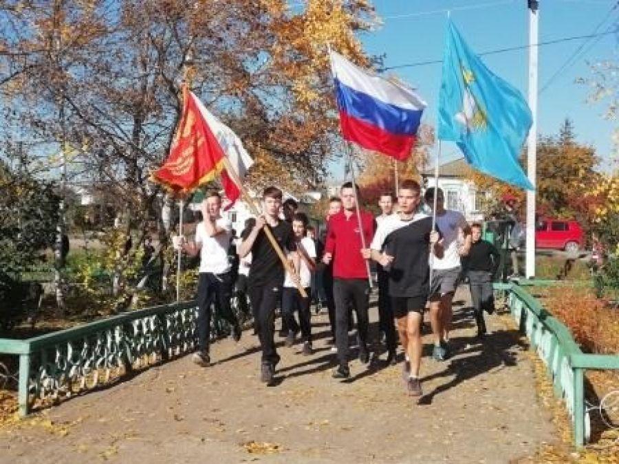 Легкоатлетический забег,  посвященный 100-летию ВЛКСМ