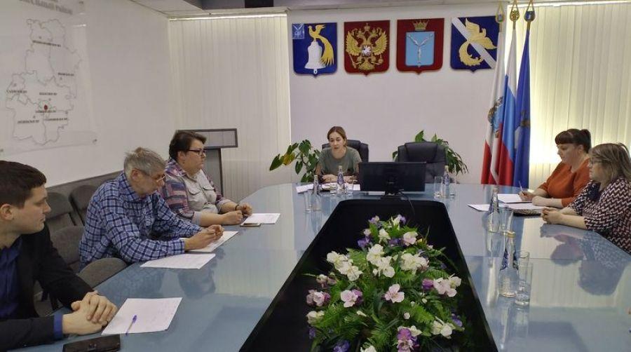Заседание балансовой комиссии  по контролю за финансово-хозяйственной деятельностью  муниципальных учреждений Татищевского муниципального района