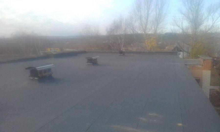 На здании сельской администрации в Сокуре отремонтирана крыша