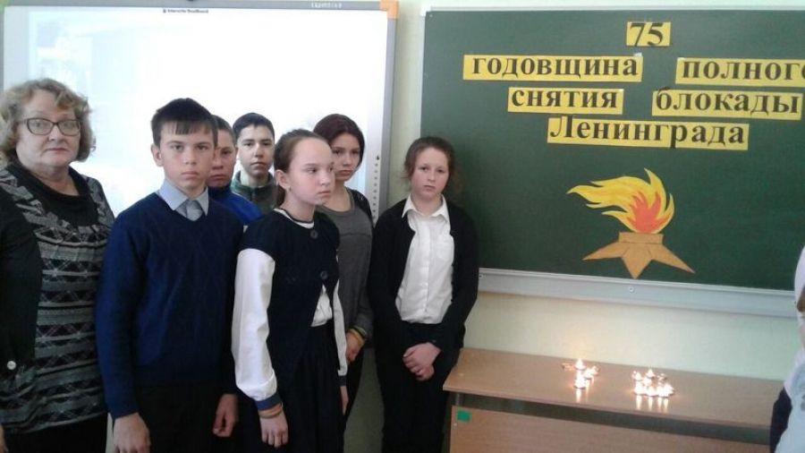 75-й годовщине полного снятия блокады Ленинграда посвящается…
