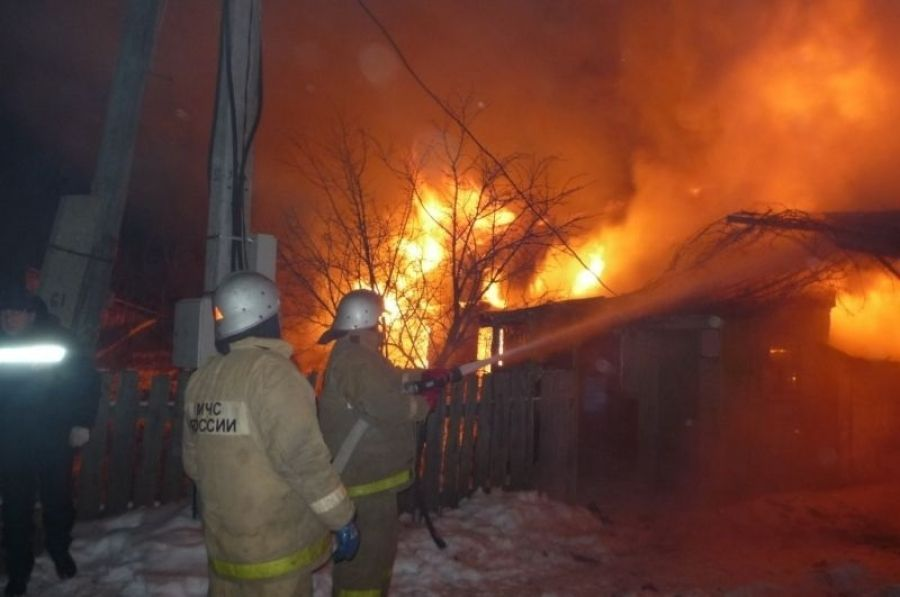 Пожар в селе Кувыка потушен