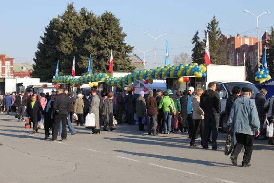 Региональные ярмарки в Москве