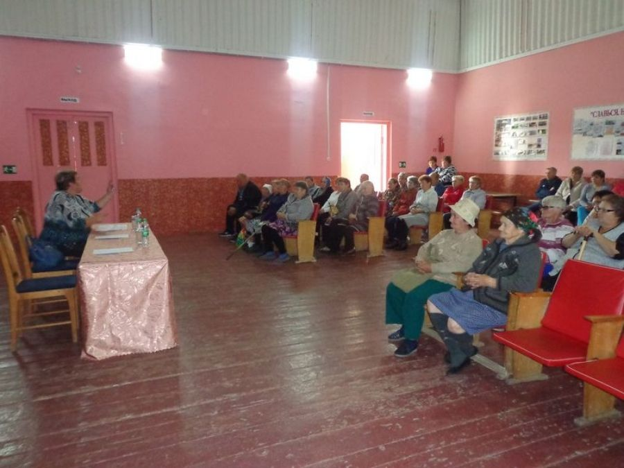 Встреча с жителями села Большая Ивановка