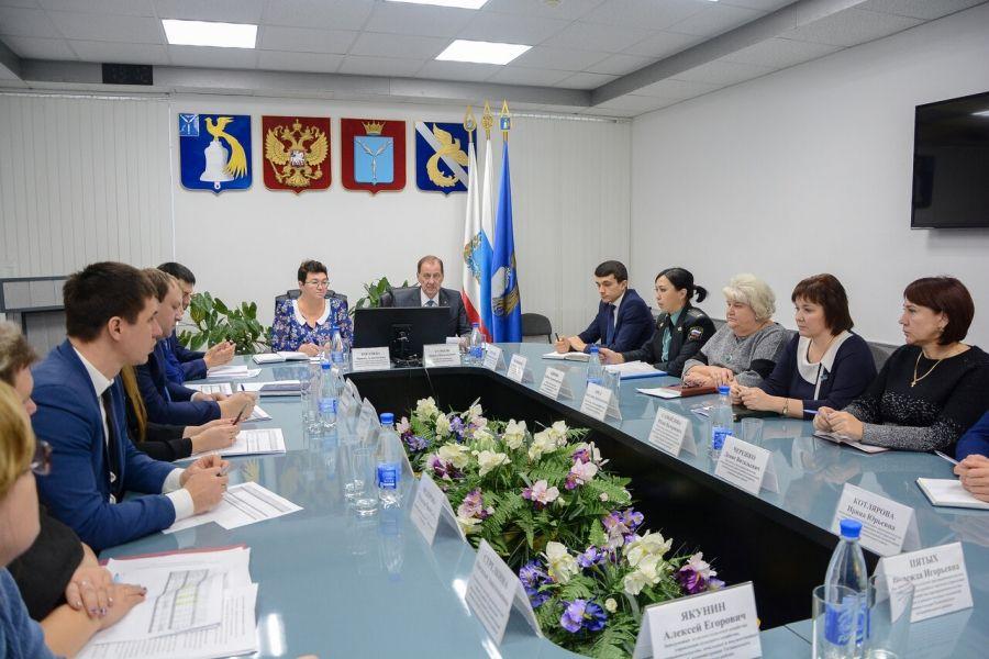 Заседание комиссии по увеличению доходов в бюджет Татищевского муниципального района