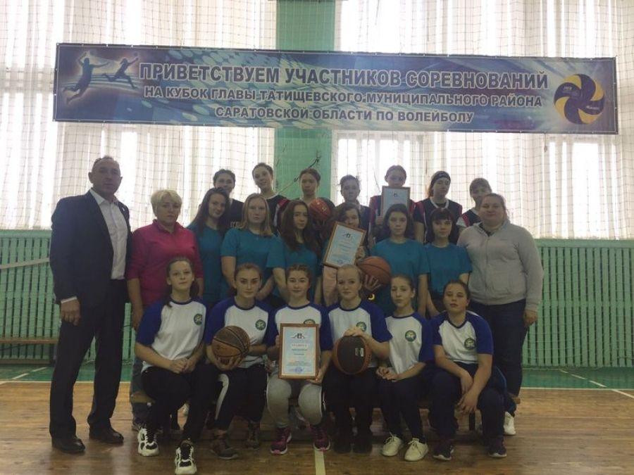 Соревнования школьников по баскетболу