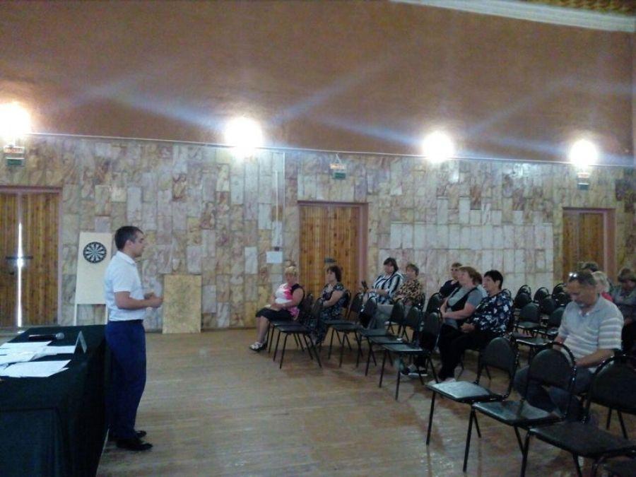 Встреча с жителями села Идолга