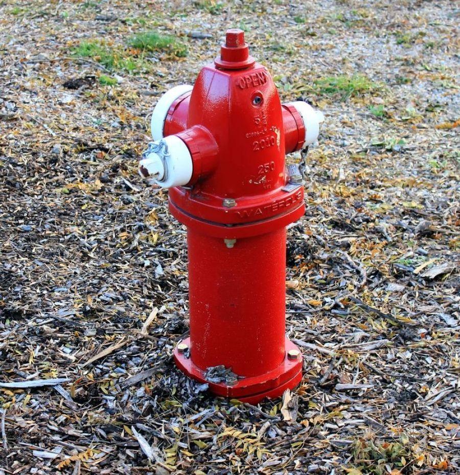 Замена пожарного гидранта