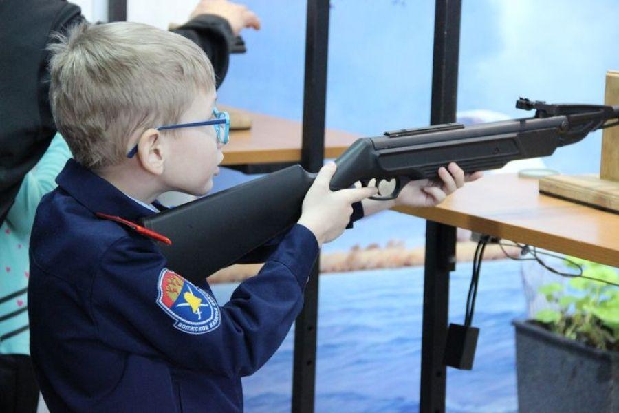 Татищевские кадеты посетили тир