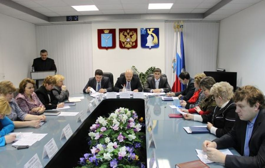 Состоялось очередное аппаратное совещание при главе администрации района