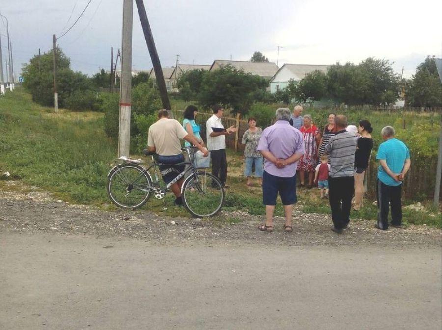Собрание жителей улиц села Большая Каменка