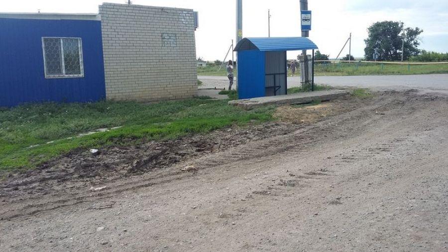 В селе Кувыка установлен автобусный павильон