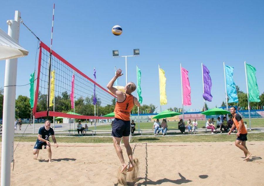 И снова волейбол! Только пляжный