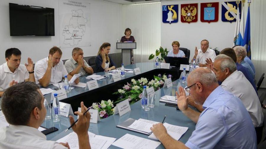 Заседание районного Собрания