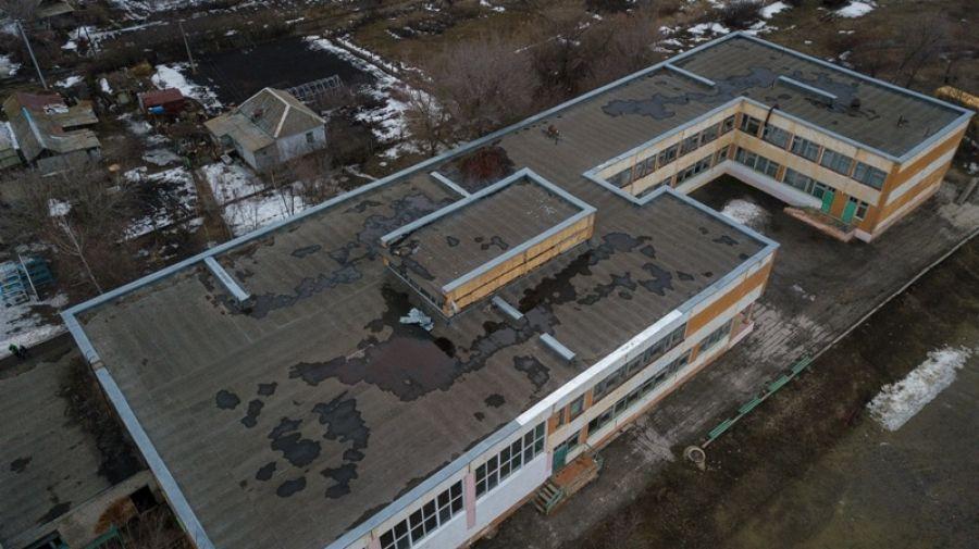 Кровле здания школы с.Октябрьский Городок предстоит ремонт