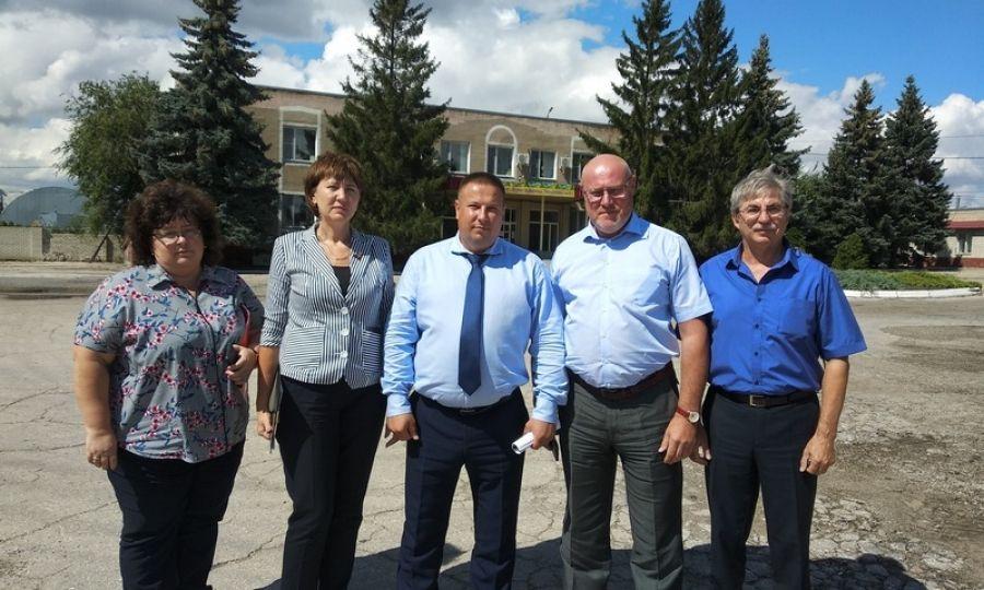 Министр сельского хозяйства Саратовской области посетил Татищевский район