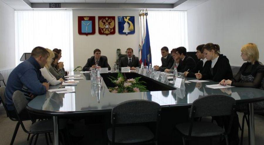 Отчетно-выборное заседание молодежного Парламента при муниципальном Собрании Татищевского муниципального района Саратовской области