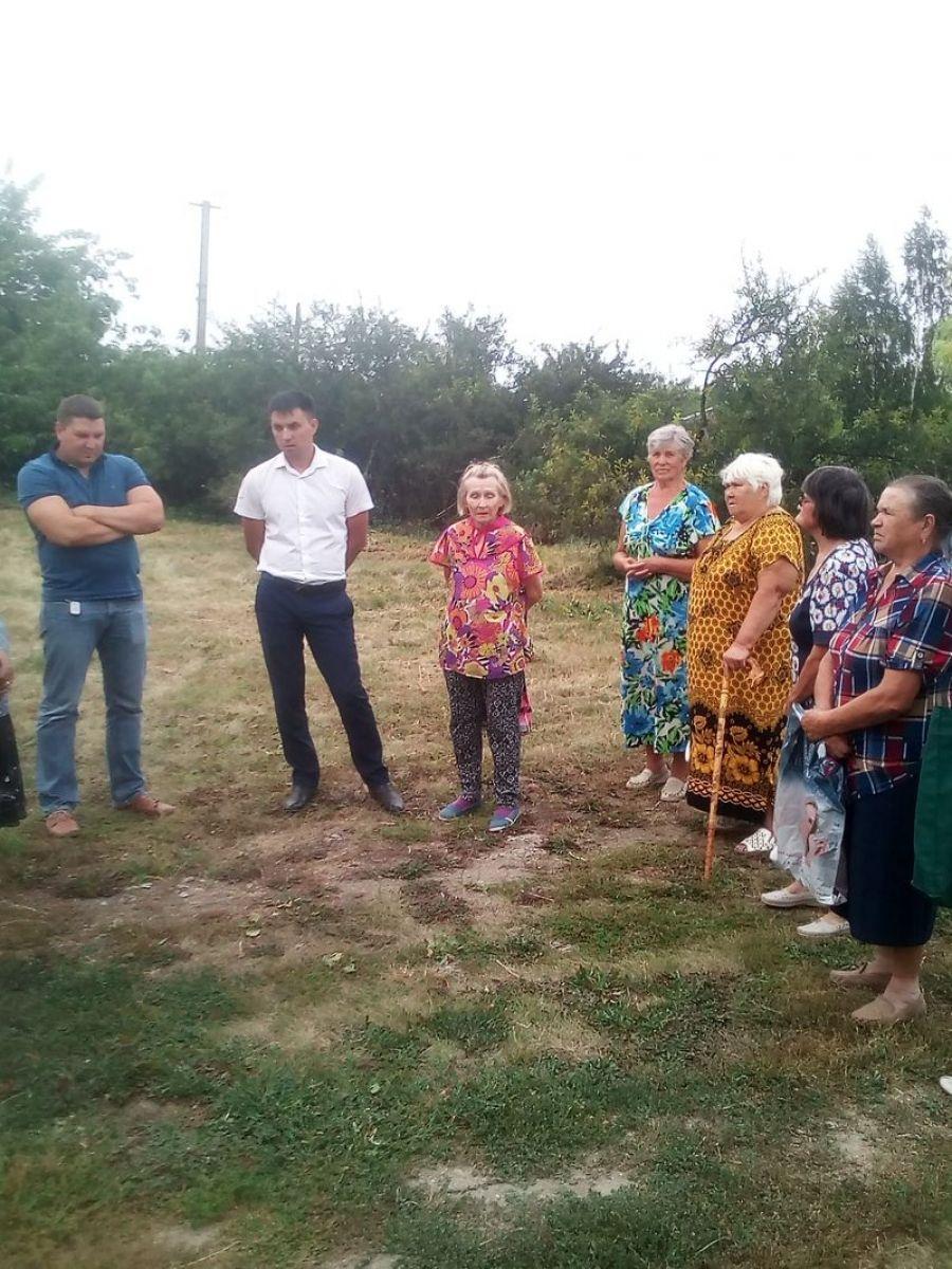 Встреча с жителями села Корсаковка